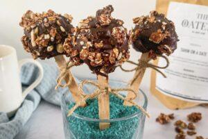 Granola cake pops
